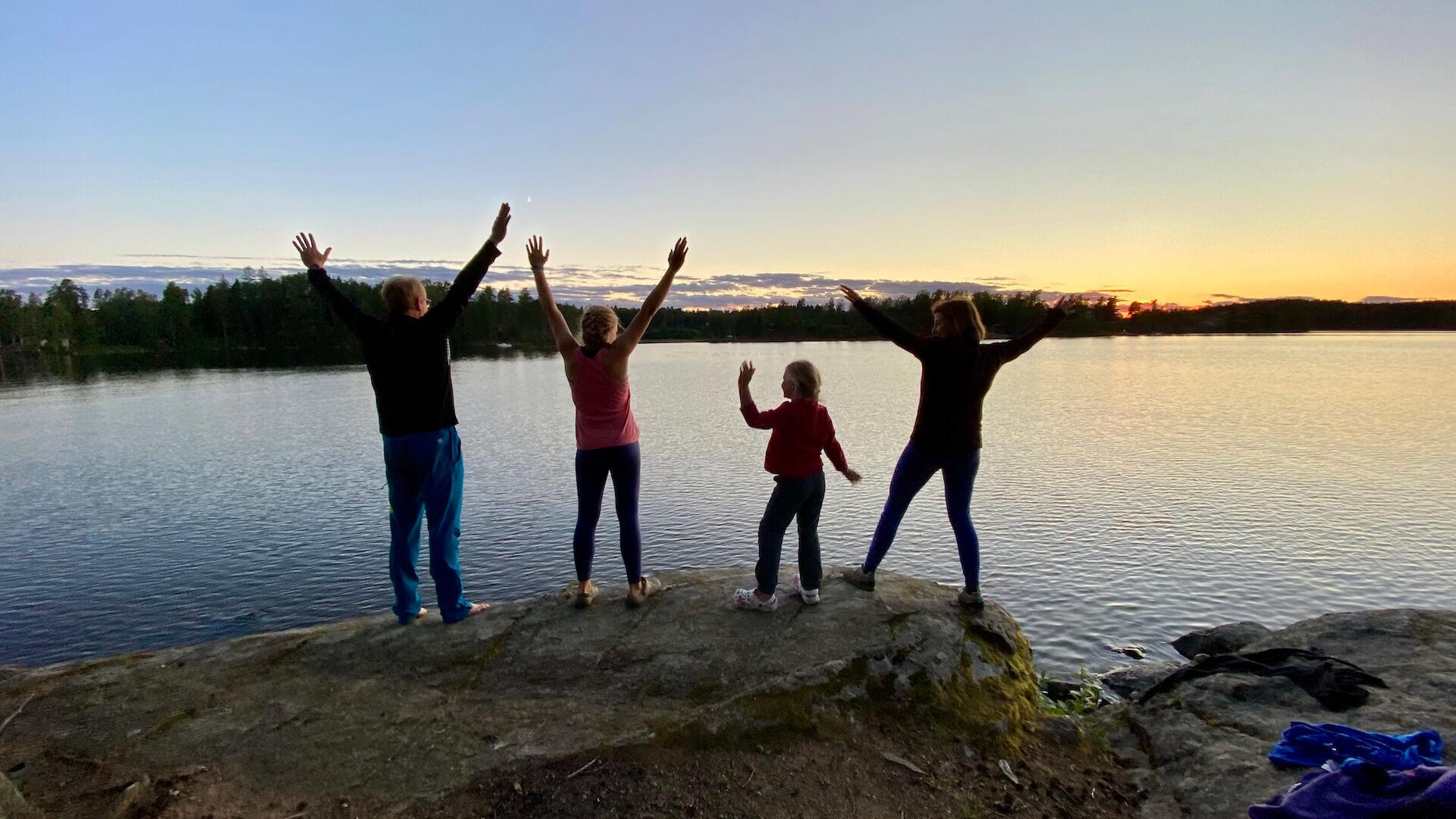 Familienzeit Geführt in Schweden – 10 Tage 2