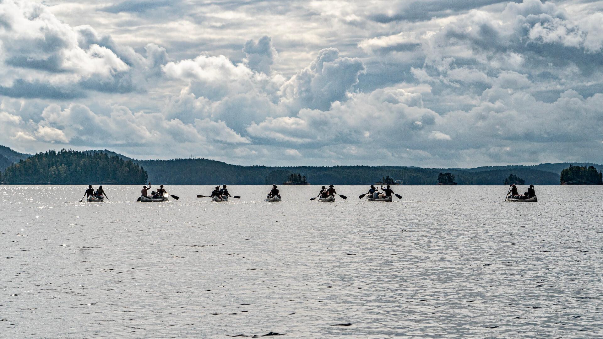 Geführte Kanutour in Schweden – 17 Tage 2