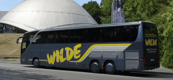 Busfahrt von Deutschland nach Schweden 1