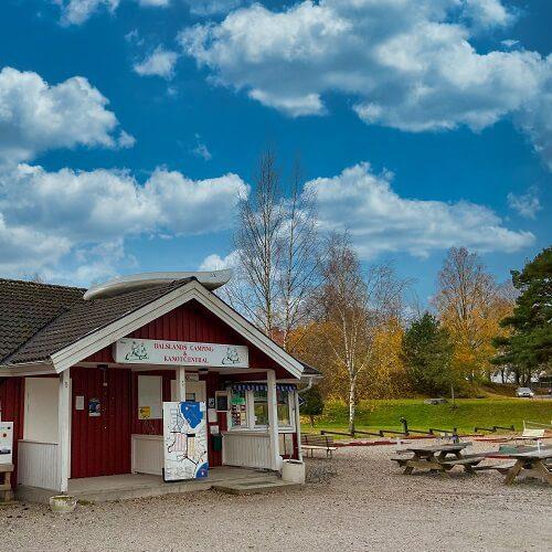 Schweden Campingplatz Hütte